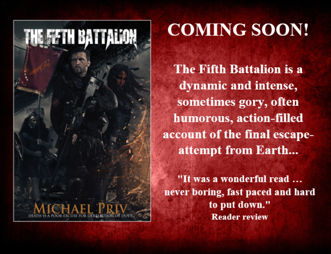 The Fifth Battalion book spot