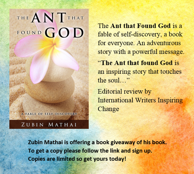 Book give away #2 The Ant that found God