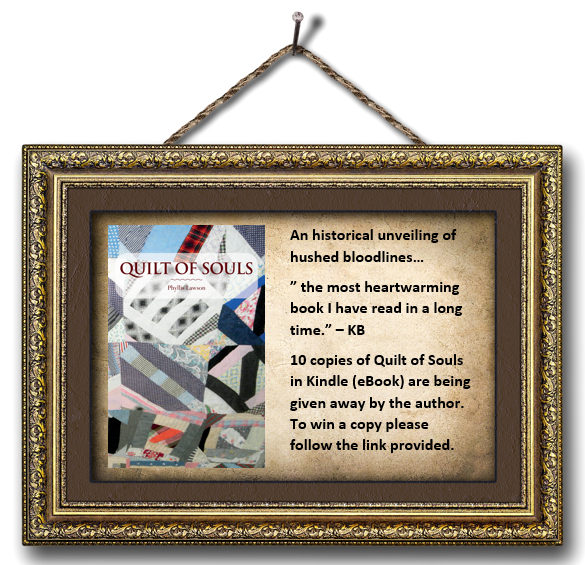 Book Giveaway Of Quilt Of Souls By Phyllis Lawson