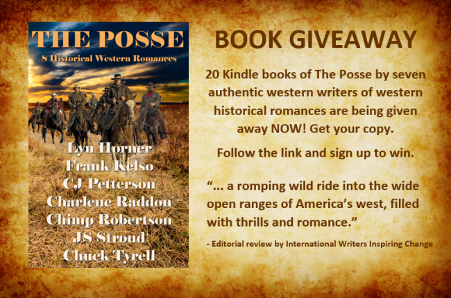 Book giveaway #2 The Posse