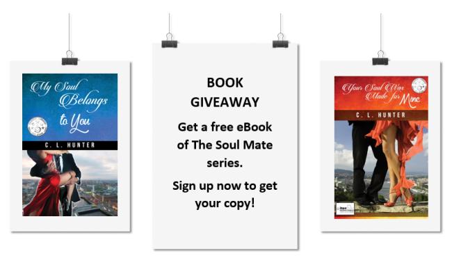 Book giveaway Soul Mate series