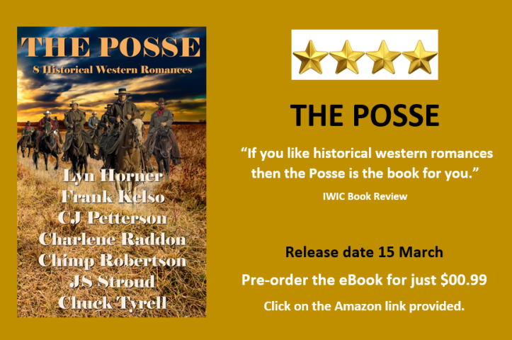 Book launch ad for The Posse 8 March 2017