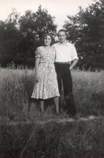 My parents ca. 1949