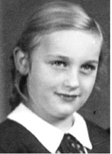 Lilly, my mother, 1940