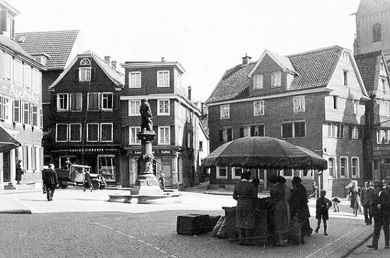Old Solingen, Germany, before the war