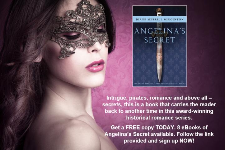 Book giveaway Angelinas Secret