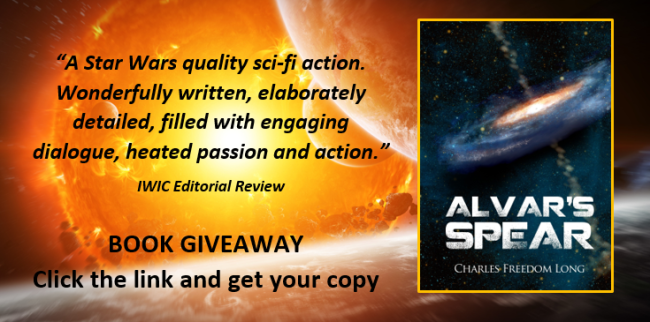 Alvars Spear book giveaway spot 2