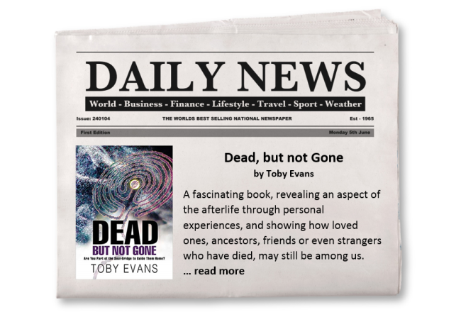 Feature Promotion - Dead but Not Gone - Toby Evans
