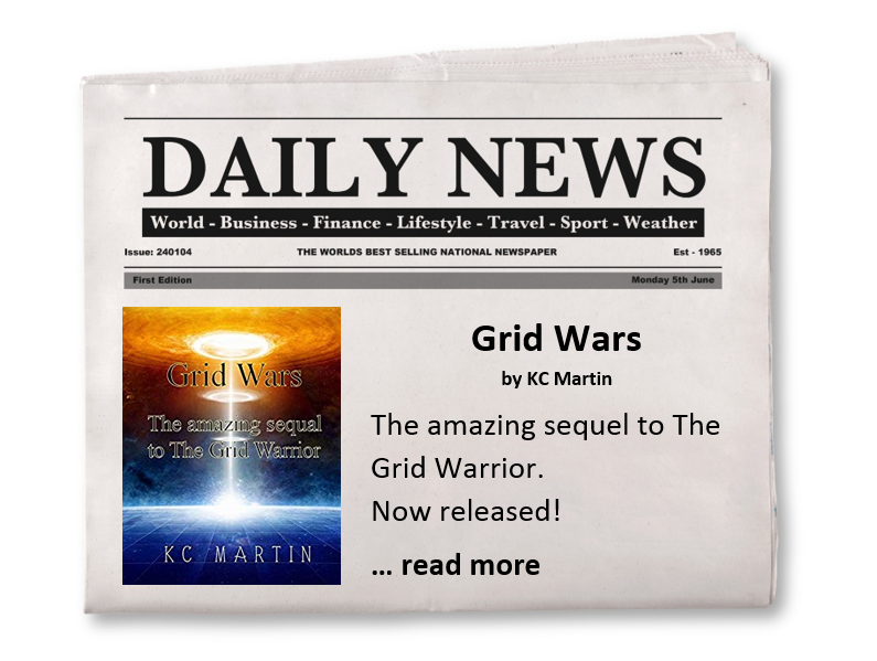 Grid Wars Feature Book promotion