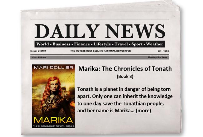 Feature Book Promotion - Marika
